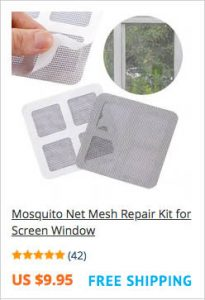 Repair kit for Mosquito screen windows