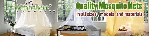Klamboe Mosquito Net for your best protection against Mosquitoes