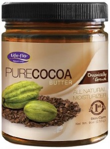 Life-Flo Organic Pure Cocoa Butter, 9 Ounce