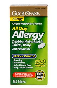 Cetirizine Allergy