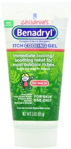 Benadryl Anti itch Cooling Gel for Kids 2+