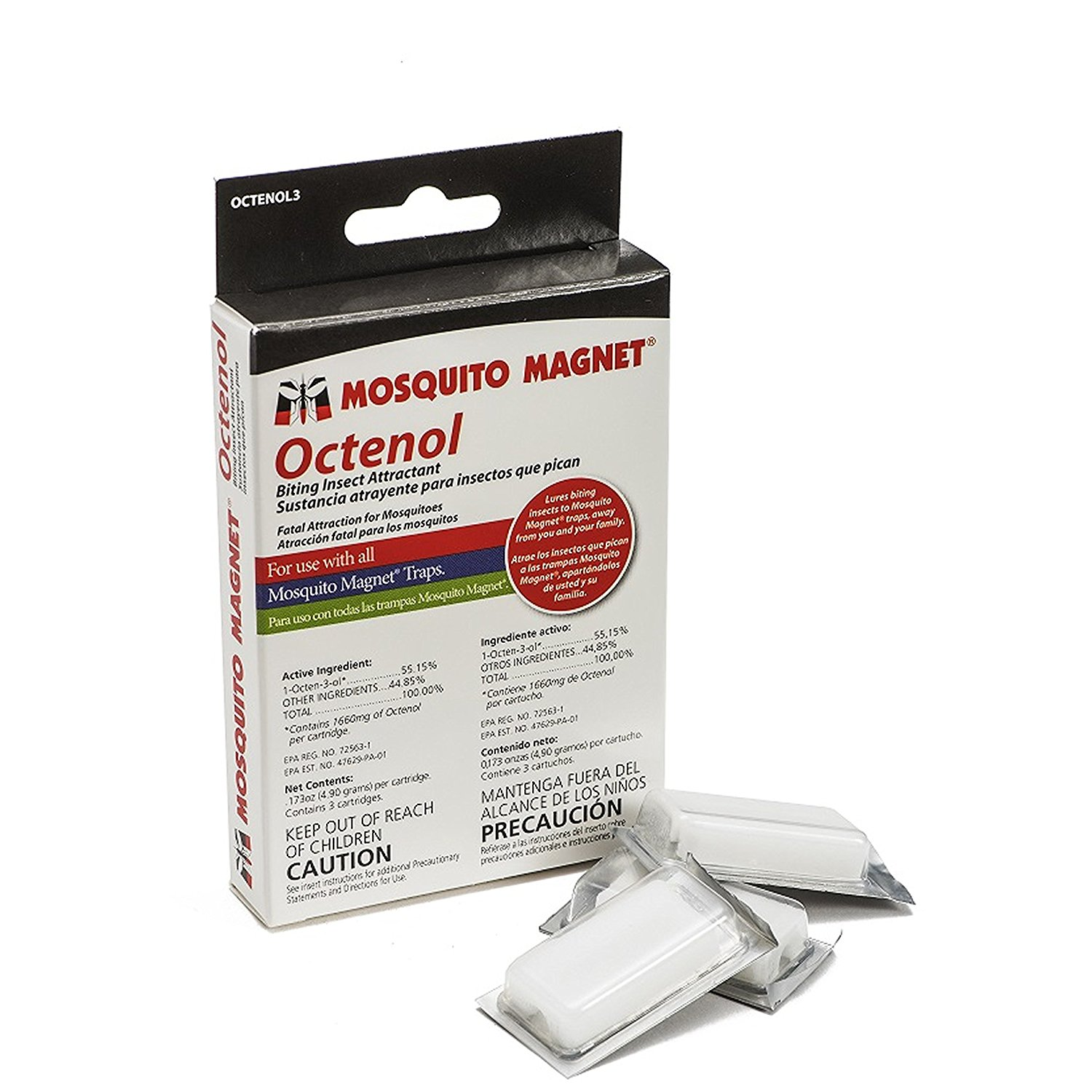 Mosquito Magnet OCTENOL3 Octenol Biting Insect Attractant